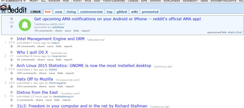 Reddit Arch Fonts