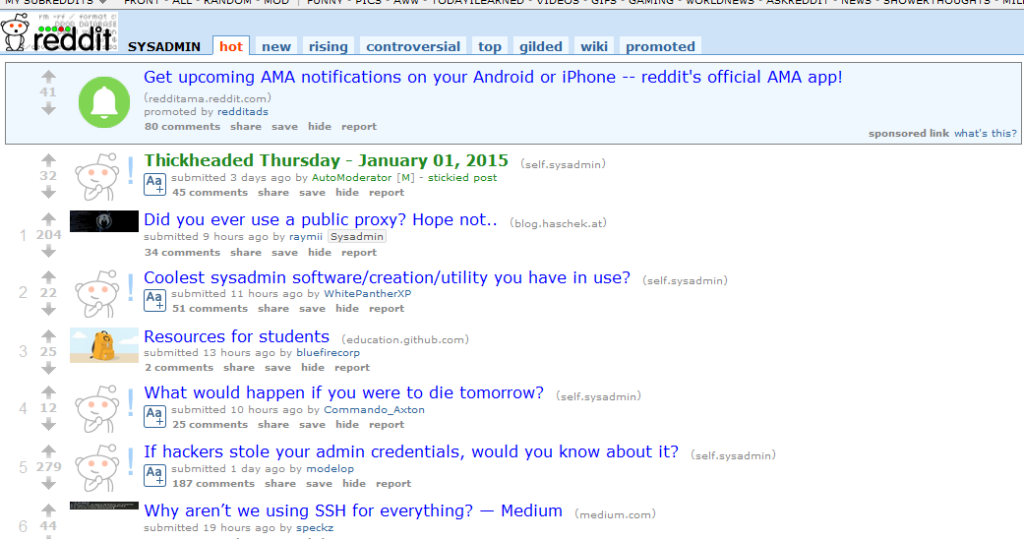 Top 17 Linux related Subreddits  Did your favourite make the